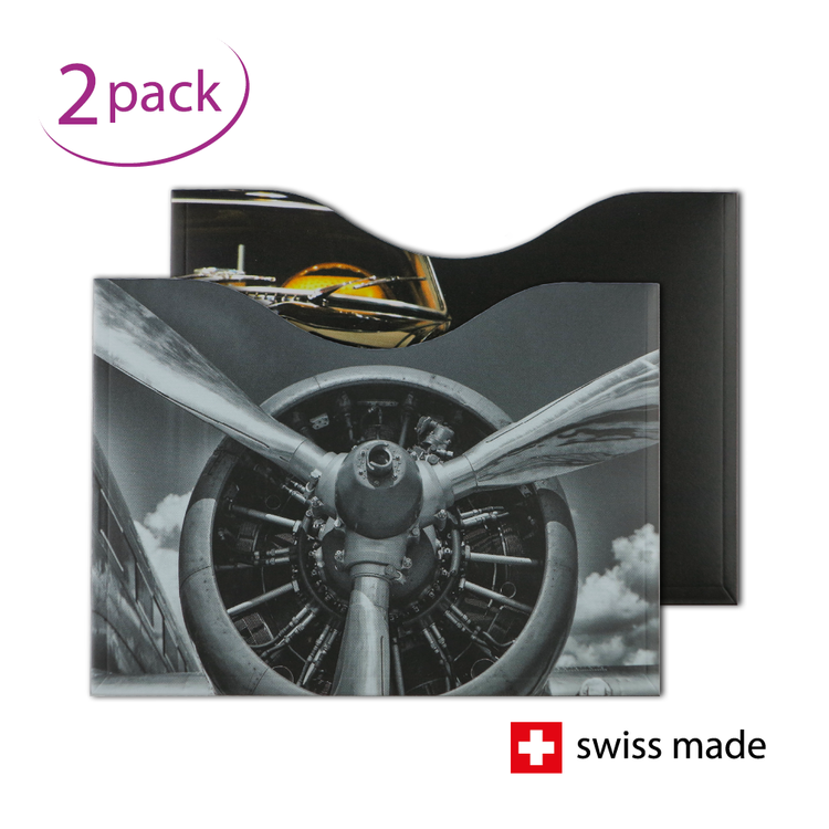 RFID Passport Protection Sleeves | Motor | Set of 2