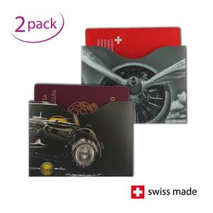 RFID-Schutzhüllen für Reisepässe | Motor | 2er-Set