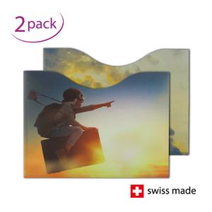 RFID-Schutzhüllen für Reisepässe | Fantasie | 2er-Set