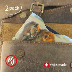 RFID-Schutzhüllen für  Reisepässe | Fauna | 2er-Set