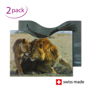 RFID Passport Protection Sleeves | Fauna | Set of 2