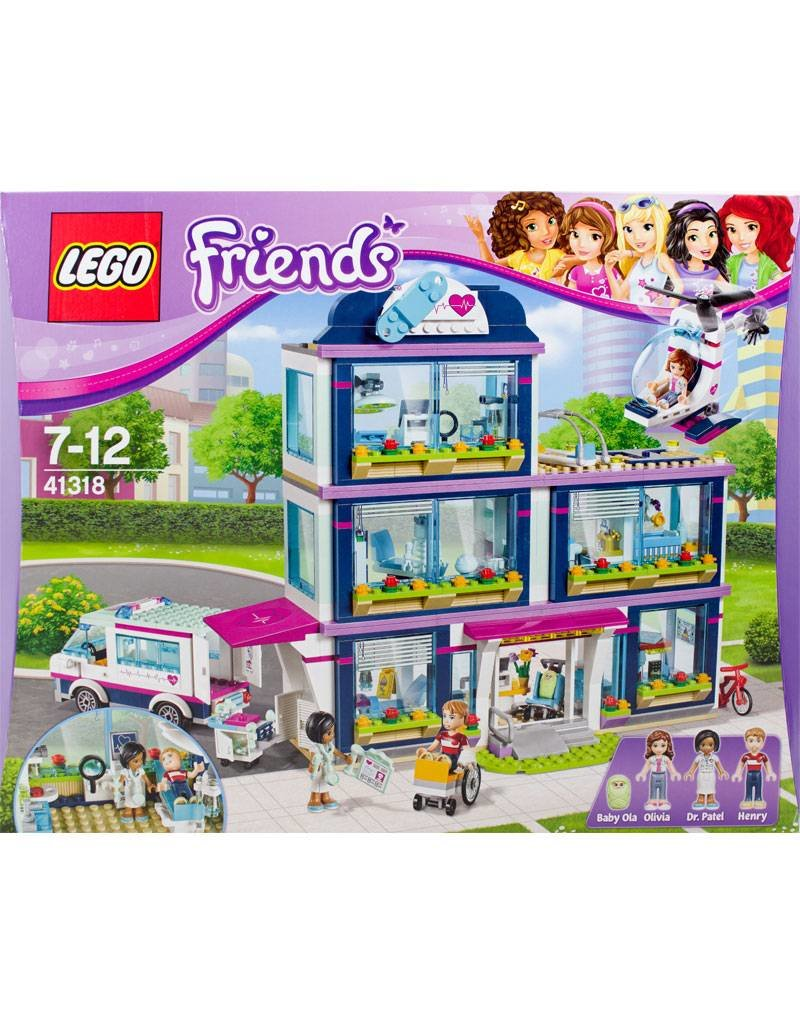 Lego 41318 Heartlake Ziekenhuis Jans Steen
