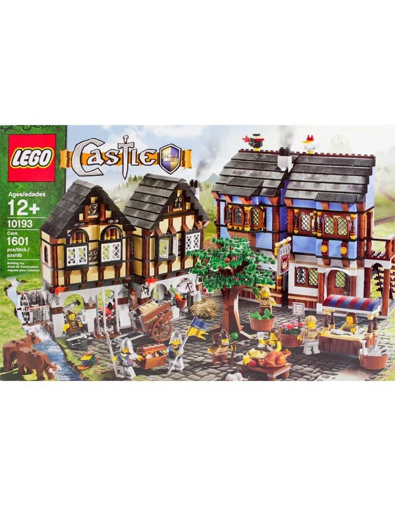 Lego 10193 Middeleeuwse dorpsmarkt