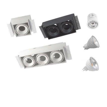 Multidir Evo S serie trimless led inbouwspot voor 50mm ledlichtbronnen