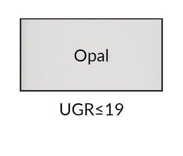 Led panelen met opalen afscherming