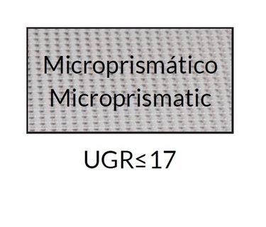 Led panelen met beeldscherm vriendelijke Microprisma afscherming