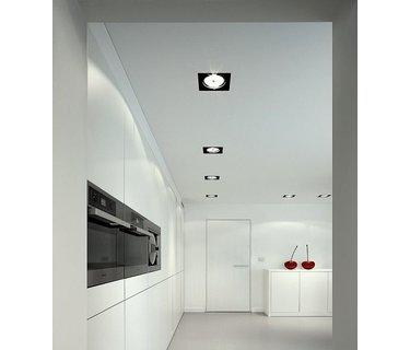 Trimless plafond inbouwarmaturen