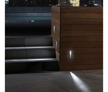 Recessed wall lamps outdoor