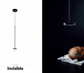 Grok Invisible led hanglamp 9Watt zwart