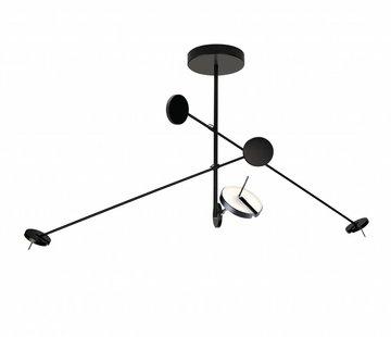 Grok Invisible 3-way pendant 27Watt black