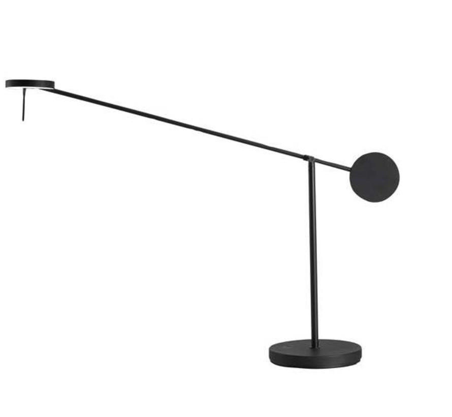 Invisible Led tafellamp 9Watt-3000K zwart touch dim