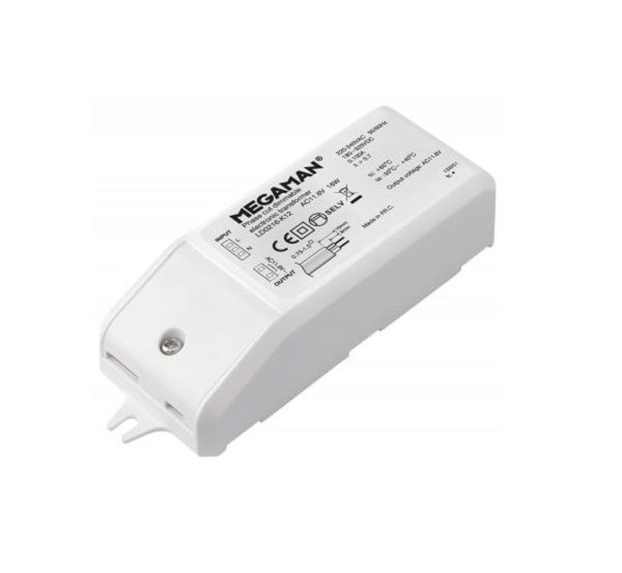 MM04224 led driver 12Volt/16 Watt dimbaar