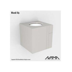 NAMA Mondi UP gips led wandlamp 230V-GU10