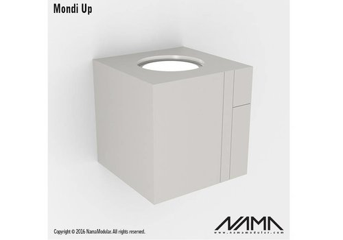 NAMA Mondi UP gips led wandlamp 230Volt-GU10