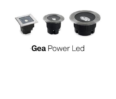 Grond inbouwspot Gea Power Led