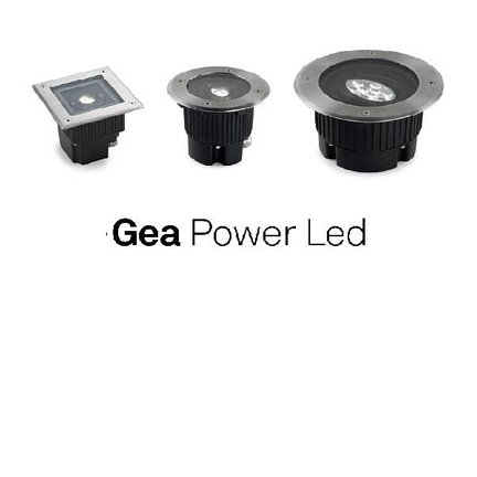 Grond inbouwspot Gea Power Led