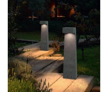 Bolderlampen voor langs een voetpad of op een terras