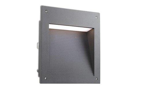 Leds-C4 Micenas Led wand inbouwlamp 230V-20Watt 3000K