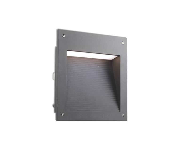 Micenas Led wand inbouwlamp 230V-20Watt 3000K in 7 kleuren