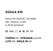 Wever-Ducre Driver 500mA-6Watt niet dimbaar