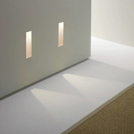 Recessed wall lamps