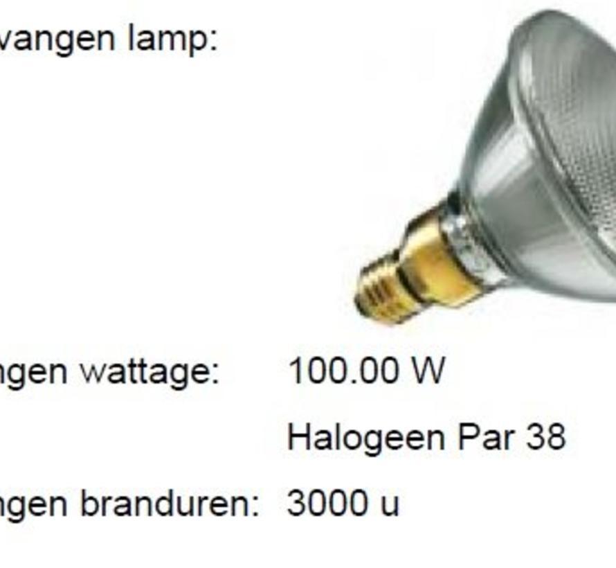MM03375 LED Reflector PAR38 E-27 230Volt - 16 Watt 25gr. IP54