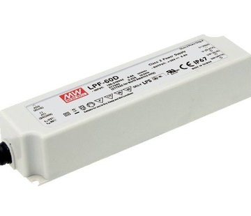 Meanwell LPF-40D-24 led driver 24V-40Watt dimbaar IP67