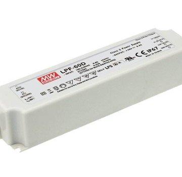 Meanwell LPF-40D-24 led driver 24V-40Watt dimbaar IP67