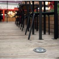 Xena Surface LED 2-weg 1,5W bollard alu grijs 230Volt