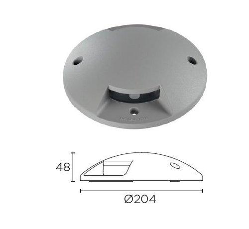 Leds-C4 Xena Surface LED 2-weg 1,5W bollard alu grijs 230Volt