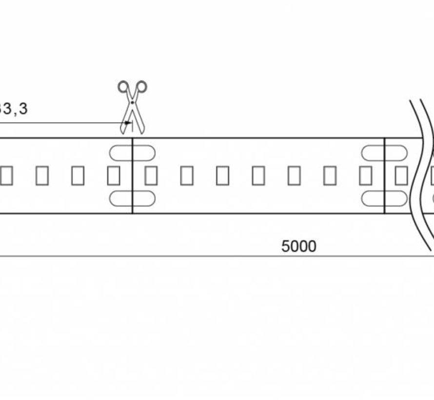 Brilliant Basic 5 mtr 24V-14,4W  ledstrip 210 leds/p.mtr