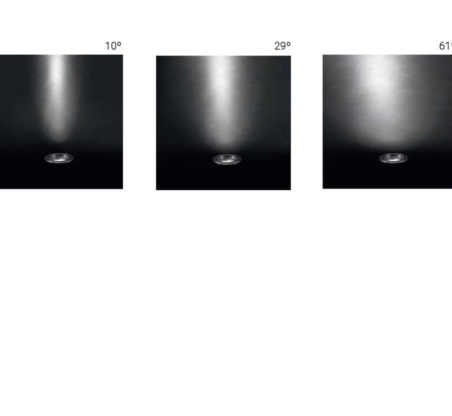 Gea Power Led Pro grondspot  37,9Watt richtbaar RVS  3000-4000K