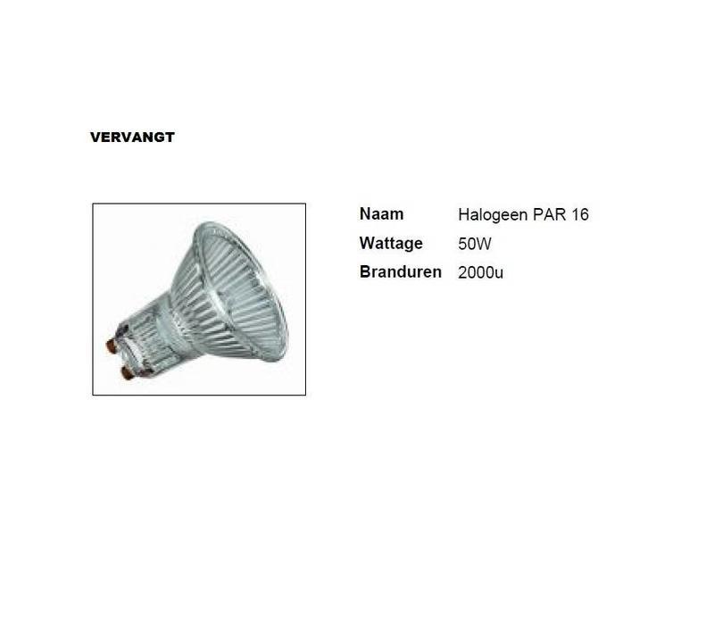 MM09680 PAR16-GU10 6Watt/36gr Dim to Warm  CRI97