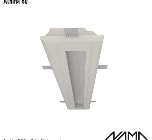 NAMA Athina 80 trimless kompleet inbouw Led profiel 80cm