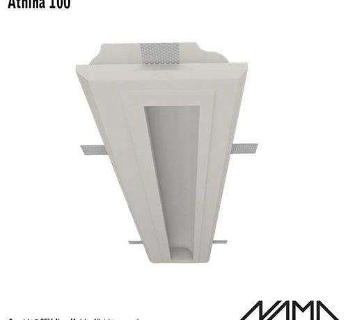 NAMA Athina 100 trimless kompleet inbouw Led profiel 100cm