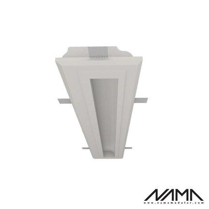 NAMA Trimless Plaster complete Led Recessed profiles