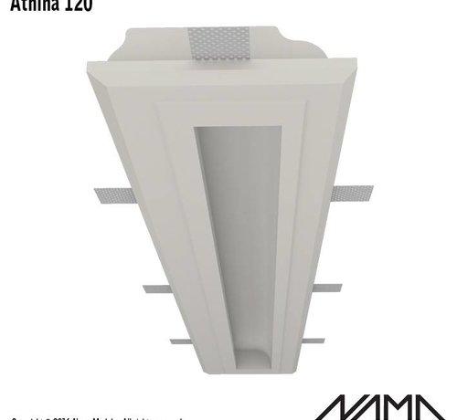 NAMA Athina 120 trimless kompleet inbouw Led profiel 120cm
