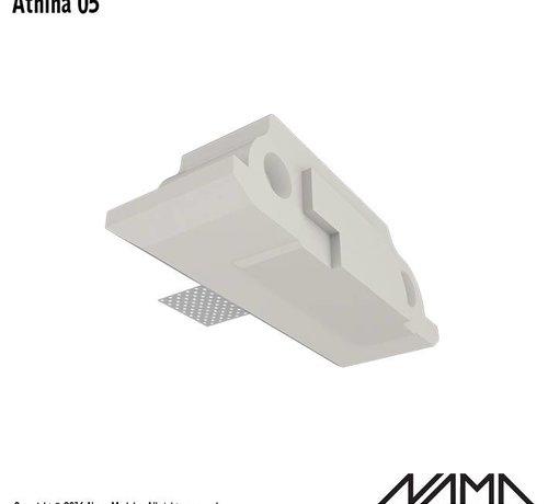 NAMA Athina 05 modulair trimless eindstuk rechts