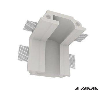 NAMA Athina 10 trimless binnenliggend hoekstuk wand-plafond