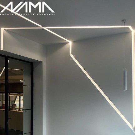 Nama Profielen modulair zijn trimless voor plafond en wand