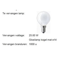 LED MM04367 kogellamp 3.5W (25W) 2800 E-14 dimbaar