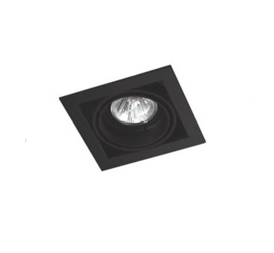 Multidir Trim richtbare inbouwspot led MR16 -GU5.3 in wit, zwart of zwart- alu grijs