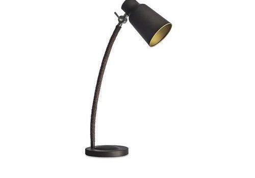 Leds-C4 Funk tafellamp bruin/goud verstelbaar