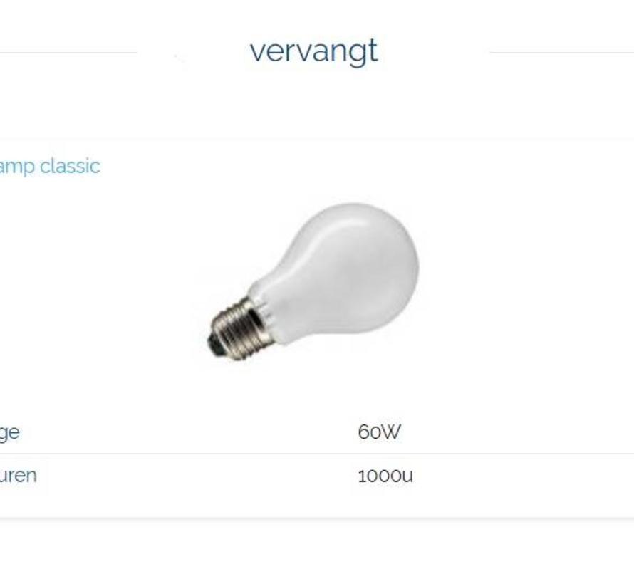 MM10028 LED Sensor 8Watt-2800K (60W) E-27
