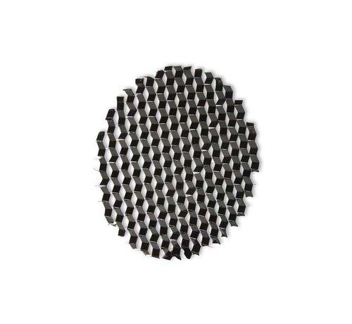 Leds-C4 Play Optics Honingraat filter zwart