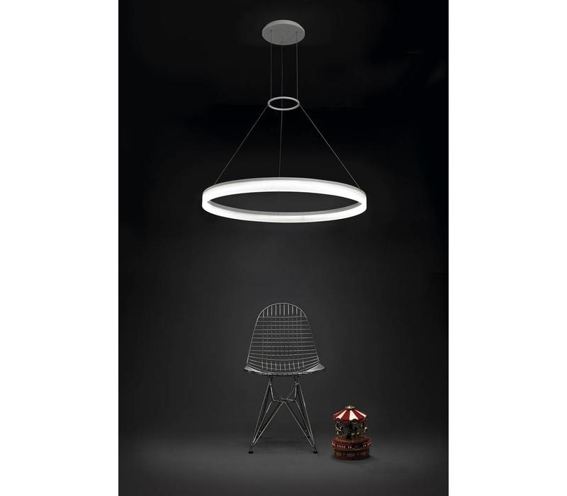Circ led hanglamp Ø600mm wit