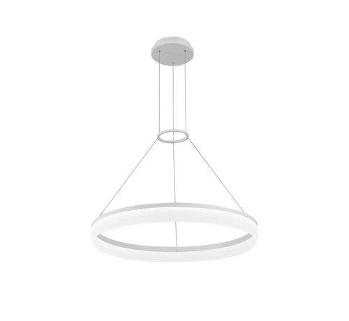 Grok Circ led hanglamp Ø600mm wit
