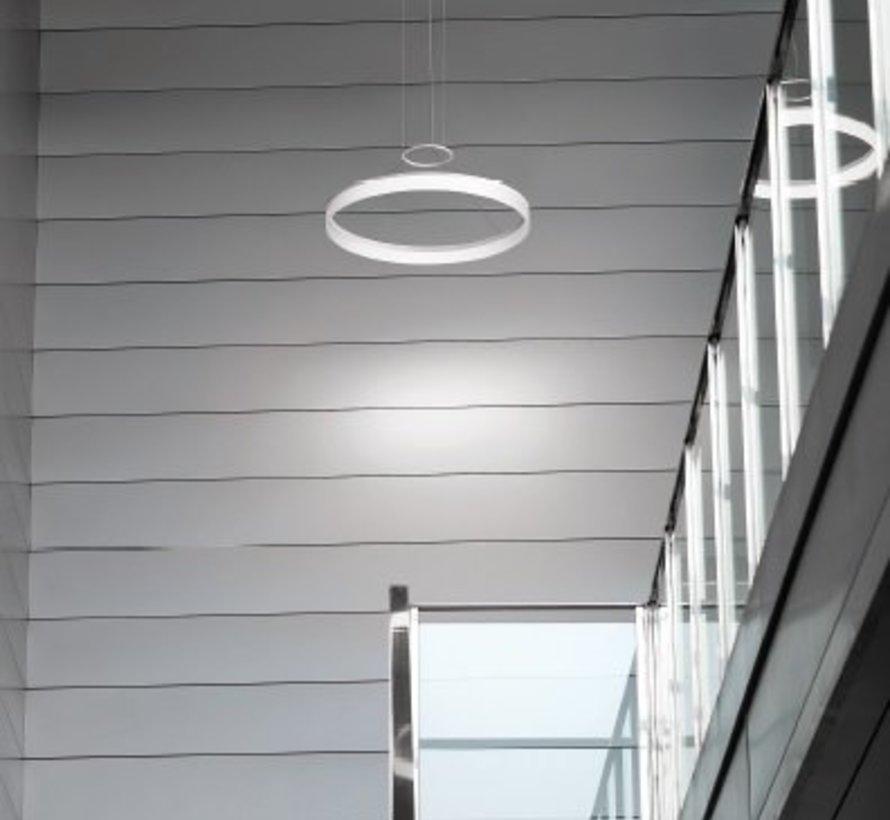 Circ led hanglamp Ø600mm wit