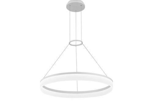 Grok Circ led hanglamp Ø800mm wit