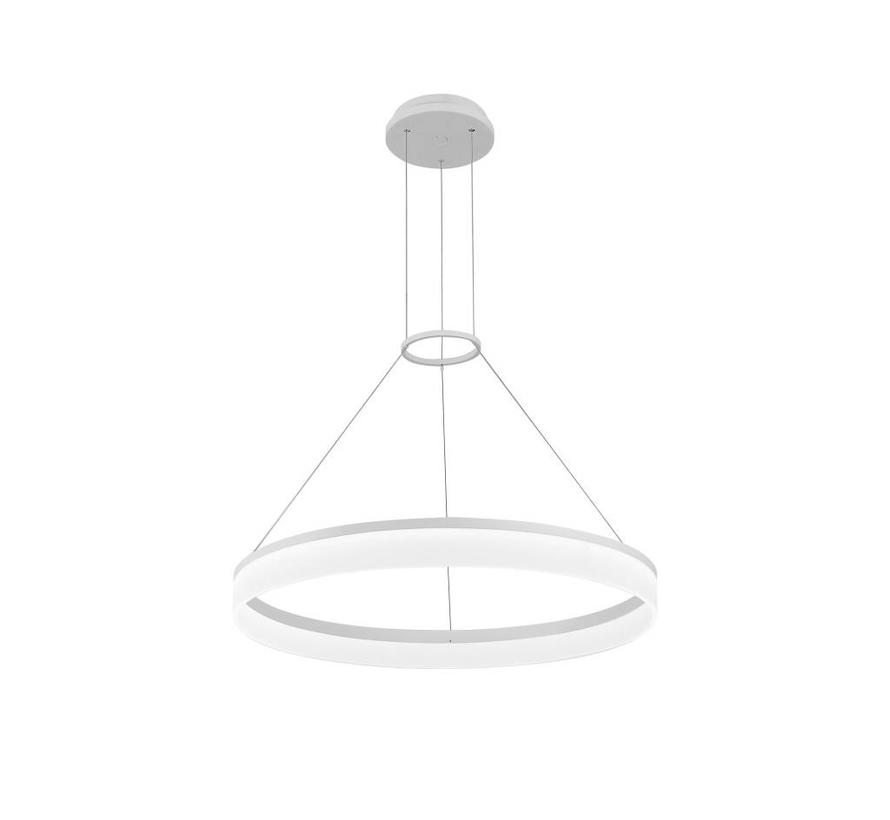 Circ led hanglamp Ø800mm wit